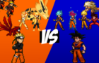 Naruto(Rikudou) vs Goku Sprite Animation