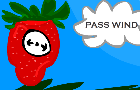 Farting Strawberry Clock
