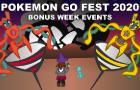 PokemonGo Fest 2020 - Ultra Bonus Weeks