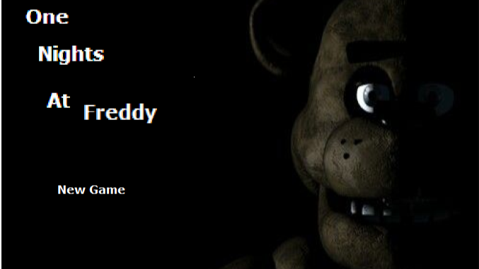 One Nights At Freddy's (Update v1.3)