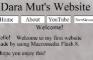 Dara Mut's Website (not really)