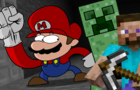 Minecraft Steve in Smash