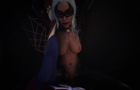 Blackcat's Sticky Before and After - Marvel