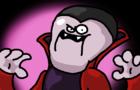 Vampire laughing