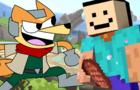 Shitass in Smash (Minecraft Steve in Smash 2)