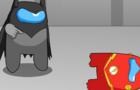 Among us Batman will bring you down Flash