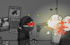 Hank go shoot badguy bang bang but they aren't badguy and hank is actually a dangerous psychopath wh
