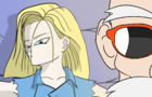 Android 18 and...your roshi again? !!!