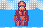 Squid! Escape! Fight!