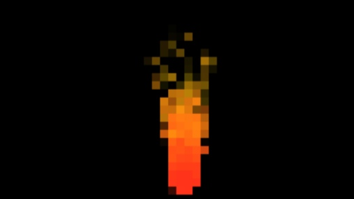 Pixelated Fire