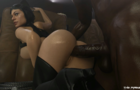 Catwoman at the Movies Blacked