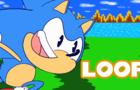 Sonic Loop Animation