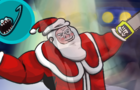 SANTA WITH A CHAINSAW (JERMA RUMBLE ANIMATED)