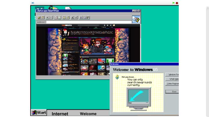 Windows 95 Rewritten!