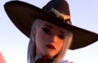 Ashe Footjob femdom Overwatch