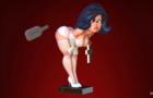 Alice Spanking fetish