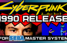 If Cyberpunk 2077 was made in 1990 (For Sega Master System)