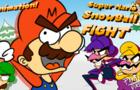 Super Mario Super Snowball FIGHT!