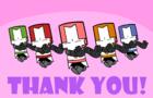 Castle Crashers thank you video! (CASTLE CRASHERS ANIMATION)