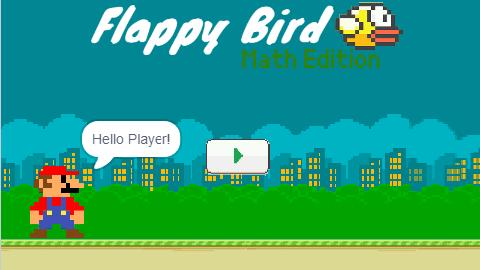 Flappy Bird Math Edition v2.0