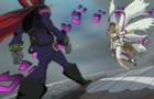 Jotaro vs Dio but it's Digimon (Gatomon vs Myotismon)