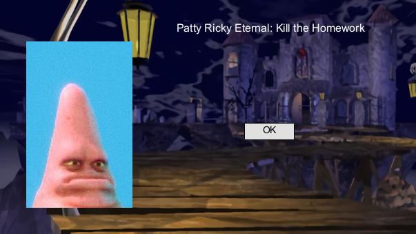 Patty Rickerson Eternal: Kill the Homework
