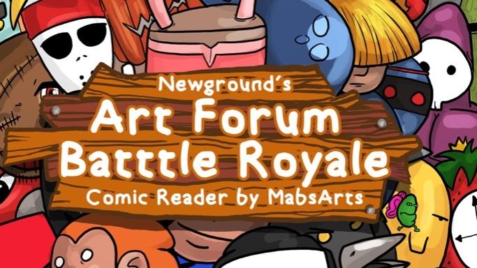 Comic Reader- Art Forum Battle Royale Volume 1