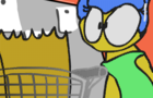 Marge Head Turn (drawn in my style)