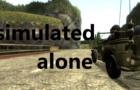 Simulated alone