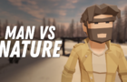 MAN VS NATURE - LOWPOLY ANIMATION
