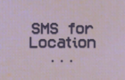 SMS for location