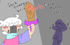 Dark energy kris meets dark matter sans