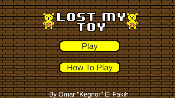 Lost My Toy