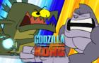Godzila VS Monke Animation
