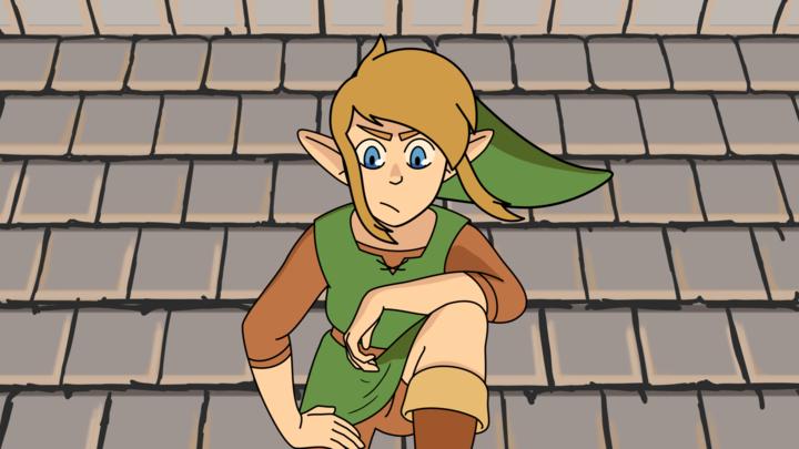 Link in Mario Maker 2
