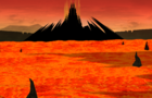 Animated Hell Landscape