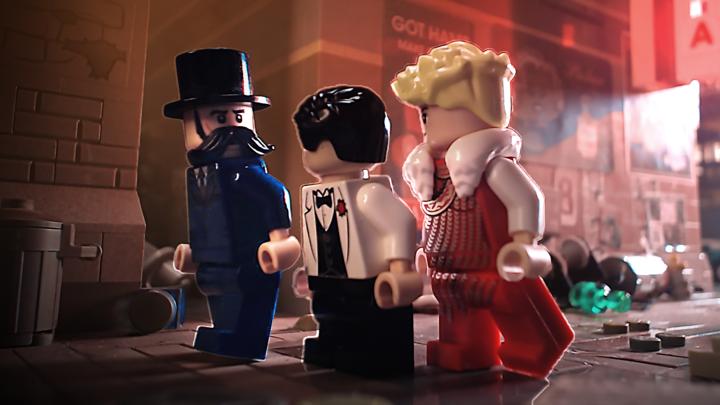 Lego Batman - Origin