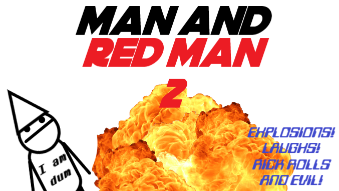 Man and Red Man 2: Scene 1