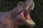 Angry Tyrannosaurus (Blender 2.91)