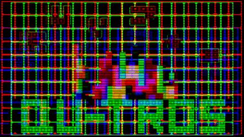 Qu-tros (Tetris to the 4th Power)