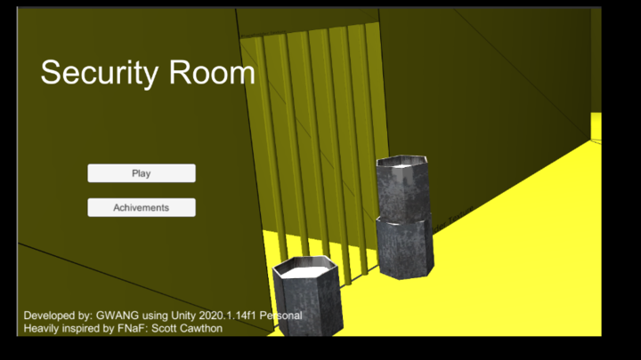 Security Room (UNFINISHED)