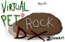 Virtual Pet Rock DX 2000