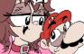 Korone Animated - Kiss me Mario