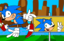Sonic Clears the Zone