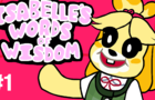 Isabelle's Words of Wisdom #1