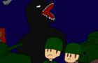 Godzilla Strikes