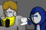 Zapchon Tries Coffee