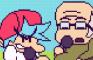 Funky Grandpa (Animation Jam Entry)
