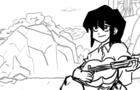 "Fubuki sings the ""Slovo Patsana"""