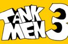 Tankmen 3 ft. blue haired person